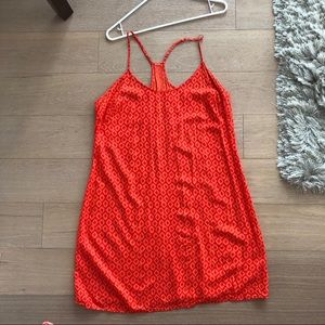 Old Navy Orange Shift Dress